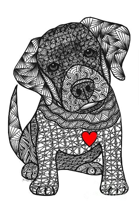 175 Best Dogs To Color Images On Pinterest