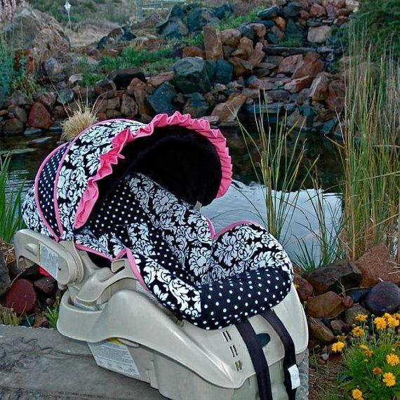 graco snugride custom infant car seat cover classic pink. Black Bedroom Furniture Sets. Home Design Ideas