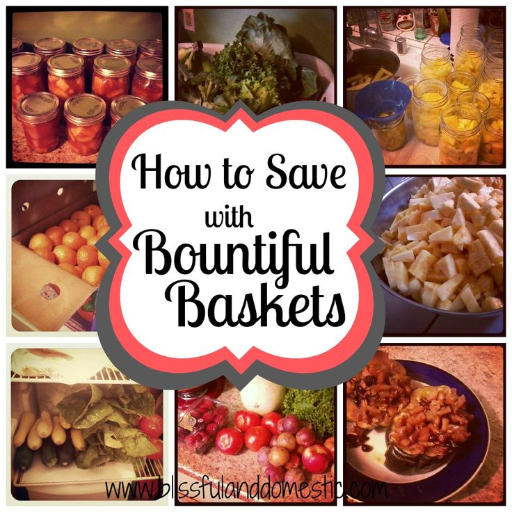 Save money with Bountiful Baskets- Tips on how to do it and eat cleaner and healthier!