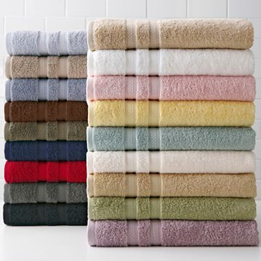 Royal Velvet® Pure Perfection™ Bath Towels in Perfect Celadon Green (no longer available)Jcpenney, Perfect Aqua, Royal Velvet, Bath Towels, Bathroom Ideas, Velvet Puree, Puree Perfect, Hands Towels, Perfect Bath