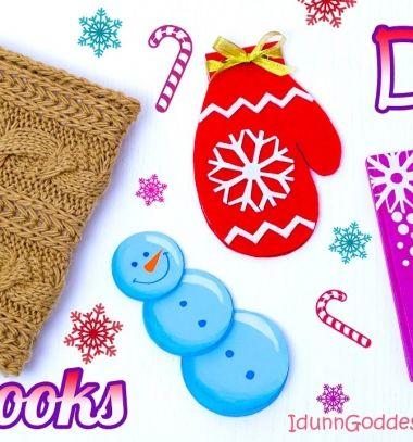4 DIY winter - Christmas notebooks  // 4 különféle téli (karácsonyi) hangulatú jegyzetfüzet házilag // Mindy - craft tutorial collection // #wintercrafts #winterdecors #wintercrafttutorials #diy #DIY #wintercraftideas #diywinterdecors