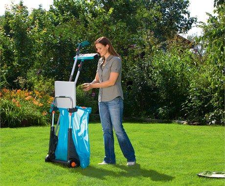 Садовые принадлежности — Тележки для листьев и корзины для уборки листьев от GARDENA