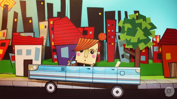 Avoid the use of text messaging while driving! Fun stop motion video.