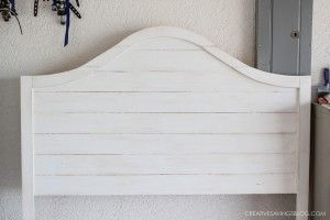 Curved Headboard - Fixer Upper Style