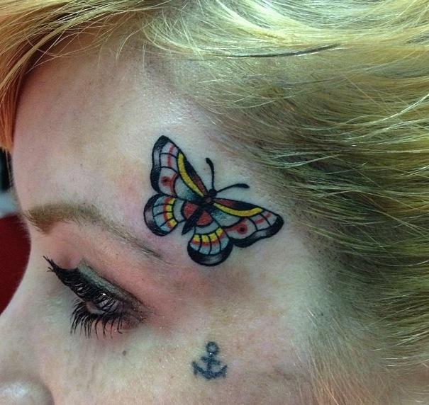 Lovely tattoos #tattoo #butterfly #anchor #art: Anchor Art, Butterfly Anchor, Lovely Tattoos