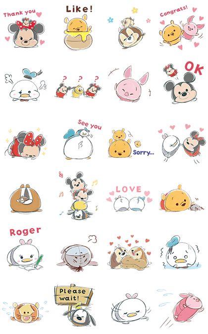 A pedido del público, regresan los súper famosos stickers de Disney TsumTsum, ¡su animación es única! Llena tus chats de caritas redondas de los Tsums.
