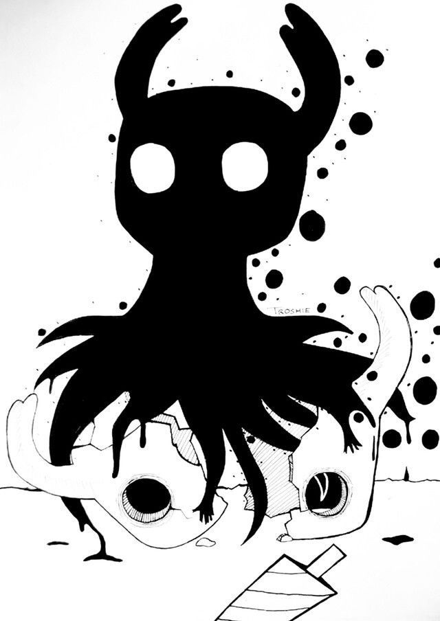 Pin By Liarobles On Hollow Knight Hollow Art Chibi Coloring Pages Drawings