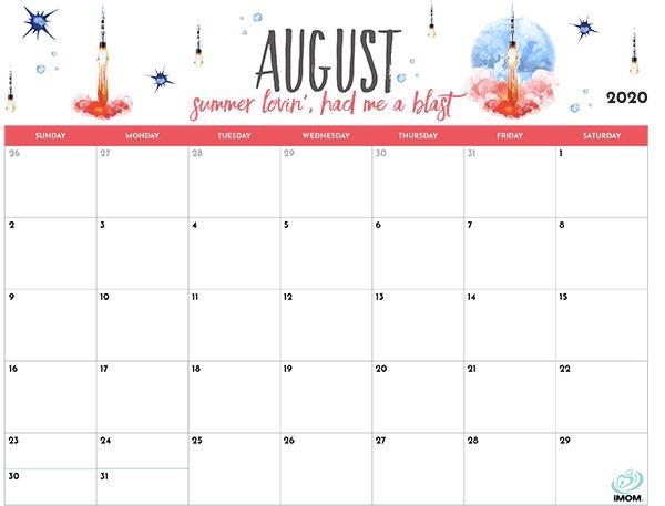2020 Printable Calendar for Moms   2018 printable calendar ...