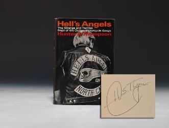 THOMPSON, Hunter S. Hell's Angels: A Strange and Terrible Saga. New York: Random House, (1967).