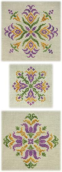 Cross Stitch , Assisi , Blackwork designs by Mabel Figworthy's Fancies