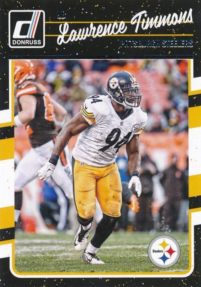 Lawrence Timmons 2016 Donruss #243 Pittsburgh Steelers Florida State Seminoles