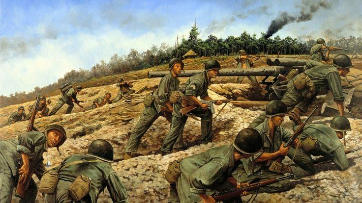 soldiers war sand military jungle smoke viet nam artillery ...