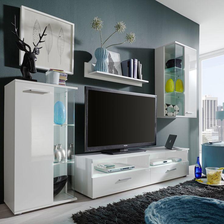 Die Schlichte Und Moderne Wohnwand Kann Individuell Nach Ihrem Geschmack Bestckt Gestaltet WerdenDurch Panoramafenster Lassen Sich Dekoration