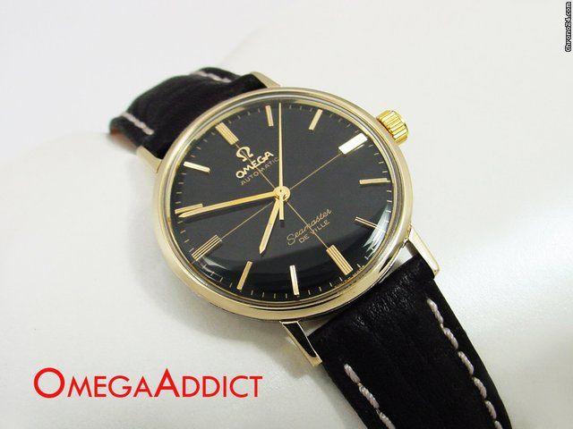 Omega Seamaster DeVille tilbud: 6.844kr Omega Seamaster Automatic De Ville Vintage Men's Watch, Ref. nr. 881; Automatisk; Stand 2 (god); År 1965; Sted: USA, AZ, Phoenix