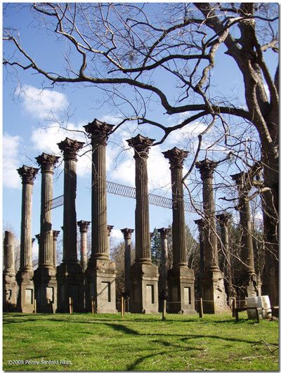 The Ruins of Windsor in Port Gibson, MS - visited here on a family vacation...beautifully haunting