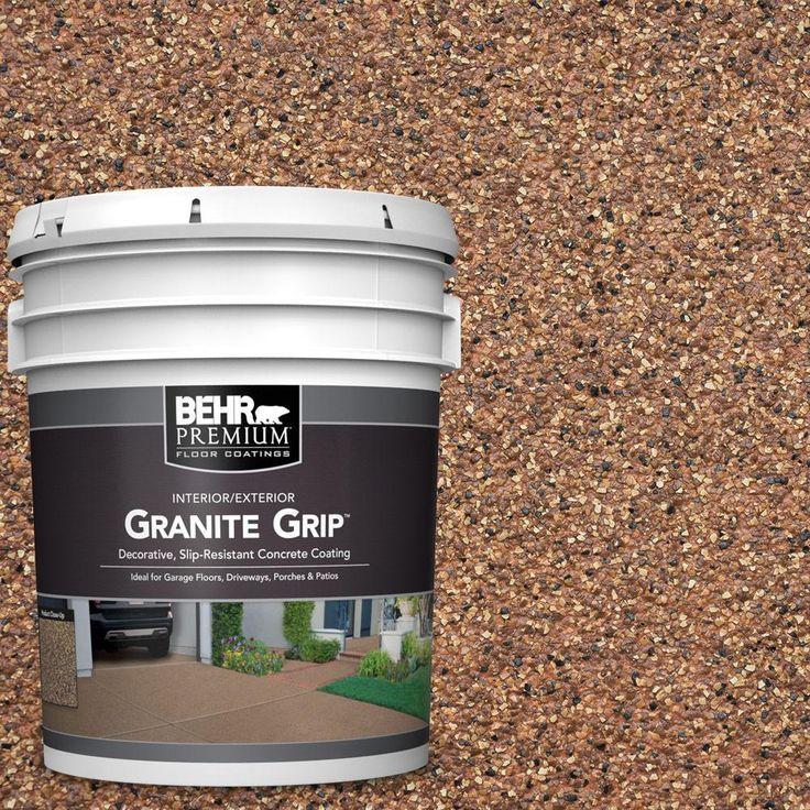 BEHR Premium 5 gal. #GG-10 Copper Marble Decorative Concrete Floor Coating