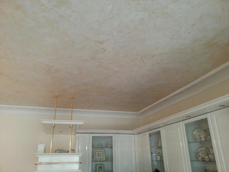 Decke mit Stucco Veneziano Alle Arbeiten wurden mit original Stucco-Royal-Produkten ausgeführt!