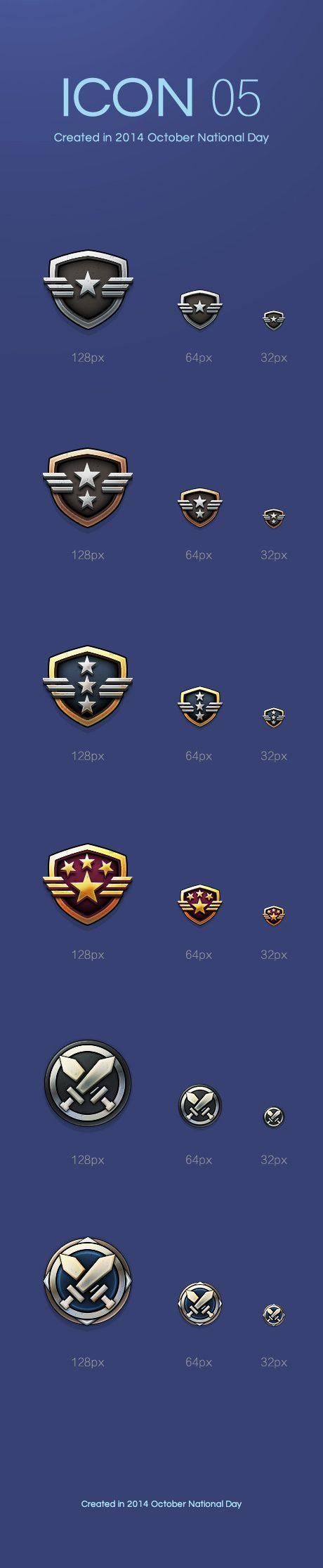 ICON05 等级勋章|图标|GUI|米...