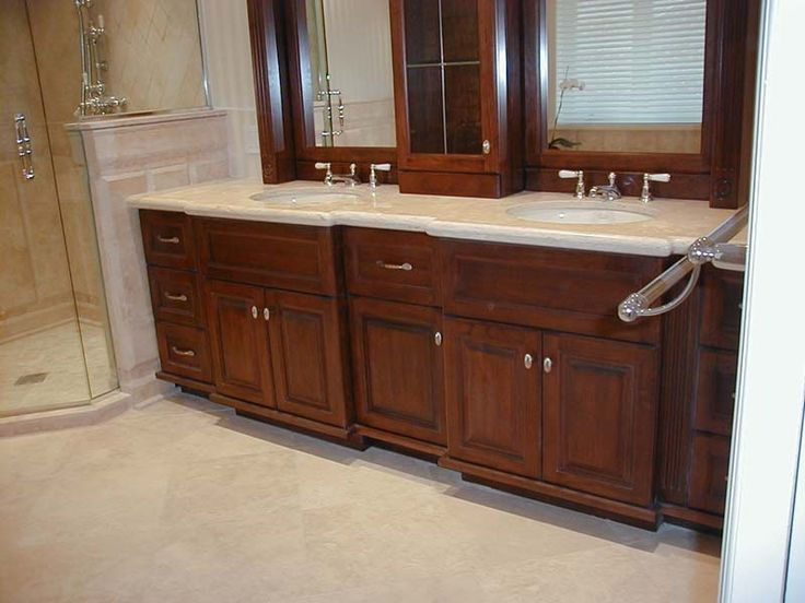 Photo Album For Website Abel inch Rustic Double Sink Bathroom Vanity Natural Oak Finish Solid wood construction