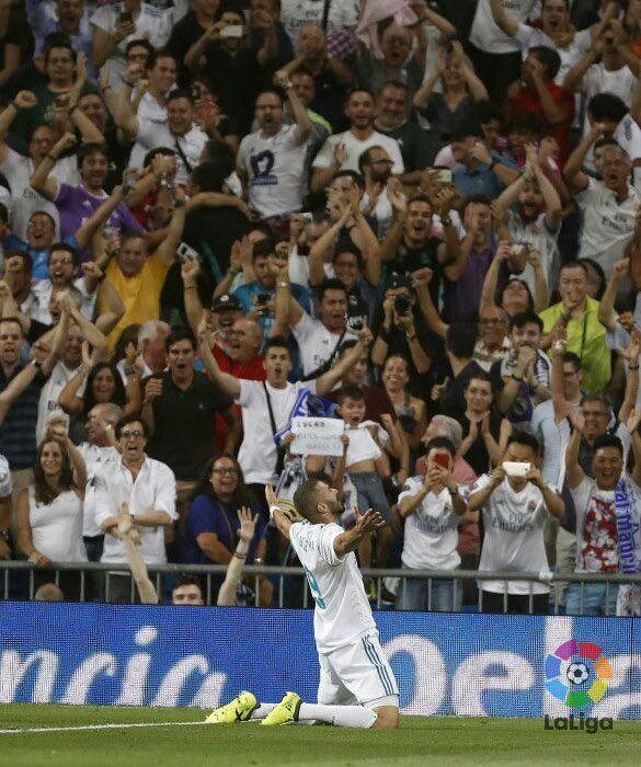KARIM BENZEMA SUPERCOPA DA ESPANHA MADRID 2X1 BARCELONA volta, bernabéu