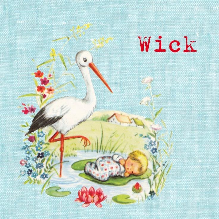 geboortekaartje Wick