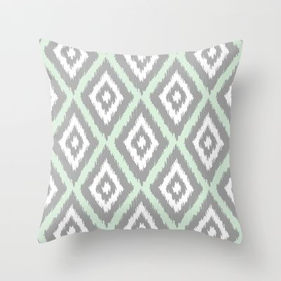 Throw Pillow Trends : Floral Tapestry-white Clear iPhone Case Trends, Throw pillows and Mint
