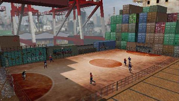 FIFA Street 2 Game Screenshots