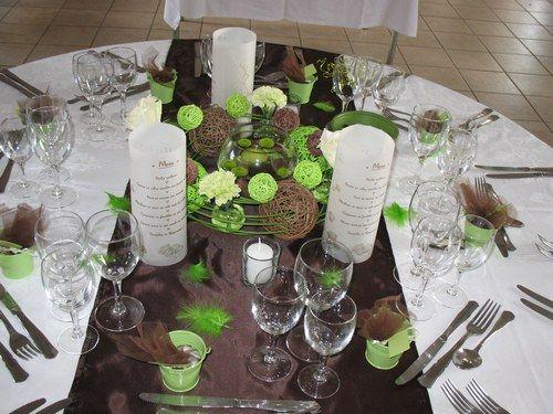Deco centre de tables