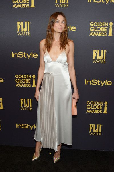 Actress Michelle Monaghan arrives at the Hollywood Foreign Press Association and InStyle celebrate the 2017 Golden Globe Award Season at Catch LA on November 10, 2016 in West Hollywood, California.