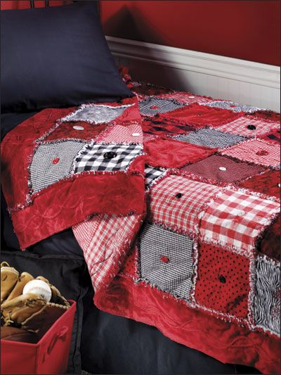 Love the reds and buttonsI I am going to hopefully make this quilt for myself…