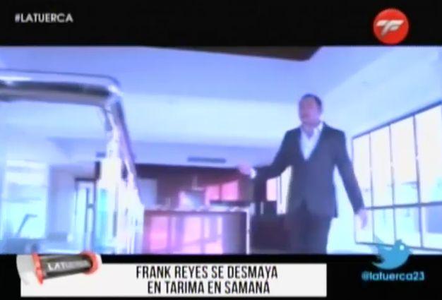 Frank Reyes Se Desmaya En Tarima En Samaná #Video