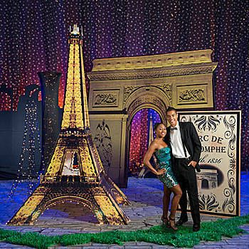 The Ultimate Set the Stage Paris Party Kit will bring the look of Paris to your event.