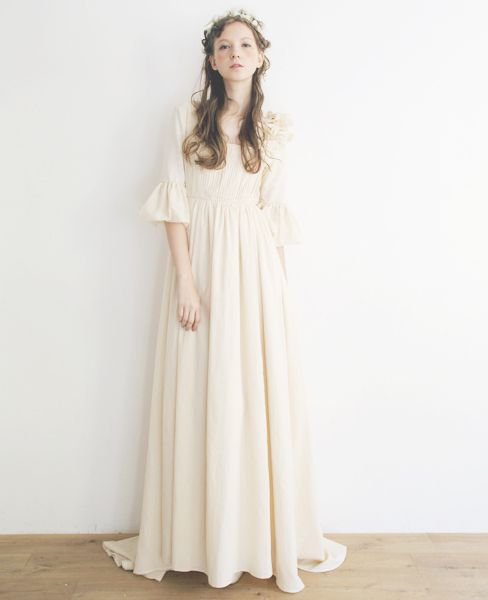 Palm maison×hoshi wedding dress