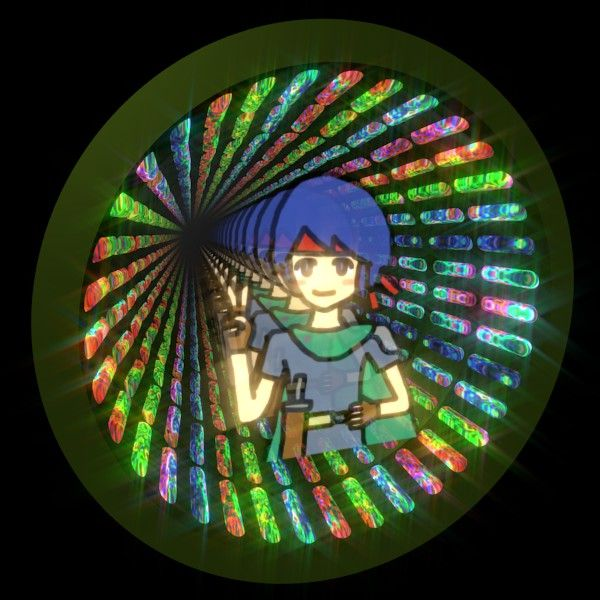 Warrior Boy In Infinity Mirror