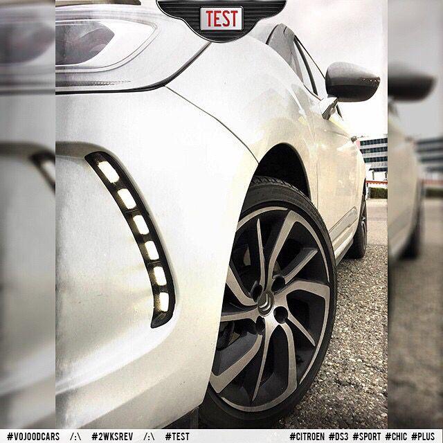 LED Daytime Running Lights /:\ Feux de jour LED #vojoodcars #2wksrev #citroen #ds3 #sport #chic #plus #led #light #review #test #love #cars