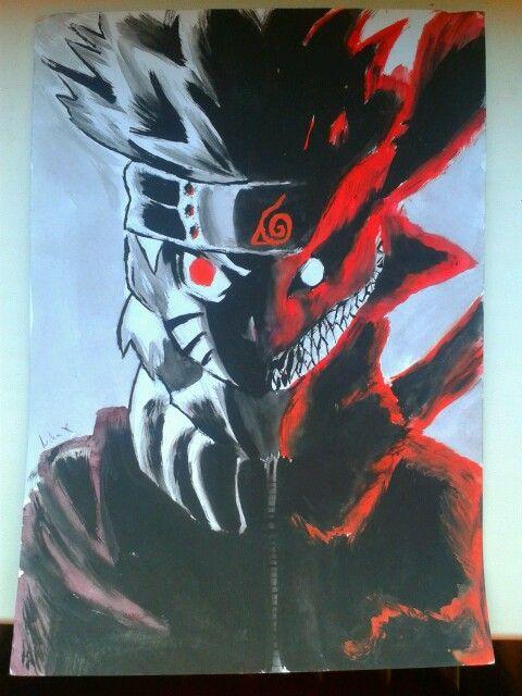 Naruto nine tails mode :-) just keep calm :-)