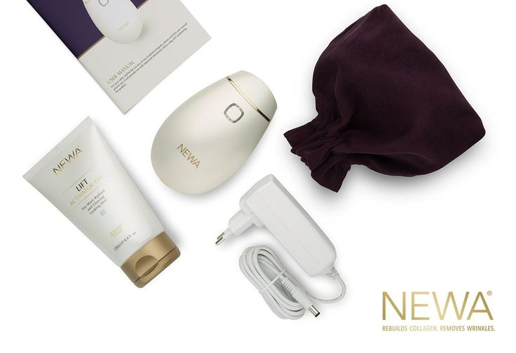 Redefine your nightly skin care routine with the Newa. Try using the Newa for just a few minutes a night to contour, tighten and rejuvenate your skin. Visit us at www.newabeauty.com