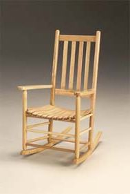 Seat Rocker Troutman Shaker rocking chairs are timeless in design ...