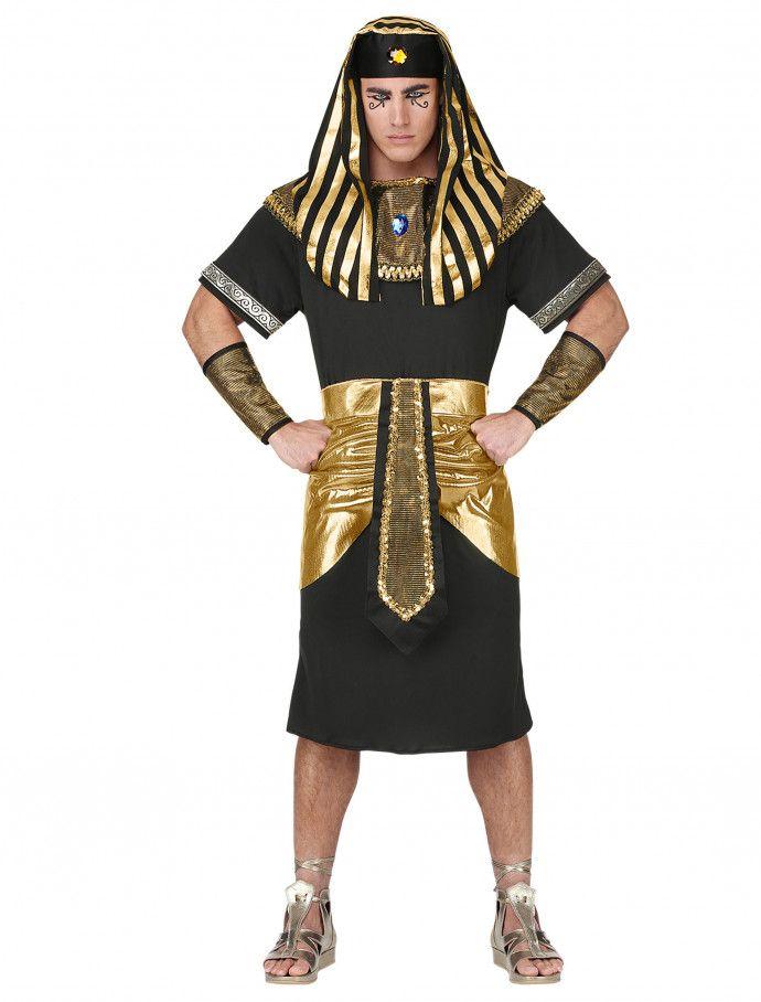 Pharao Schwarz Gold 4 Tlg Als Faschingskostum Deiters Pharao