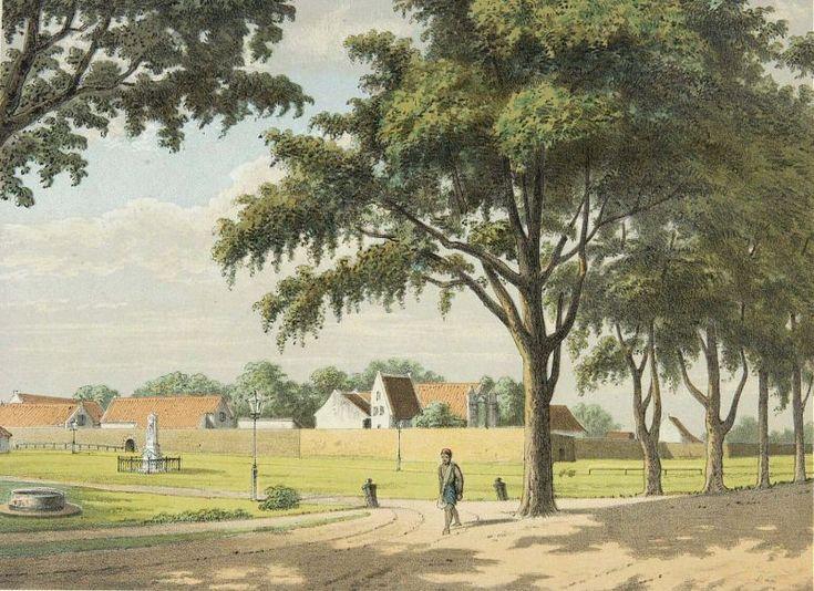 Josias Cornelis Rappard - Benteng Rotterdam Makassar
