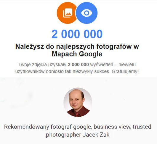 Oto link go mojej strony lokalnego przewodnika https://goo.gl/sjvArz - Jacek Zak Fotomirazak - Google+