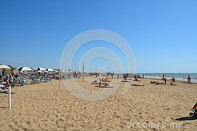 Sea And Beach With People Having Fun - Download From Over 40 Million High Quality Stock Photos, Images, Vectors. Sign up for FREE today. Image: 59699920