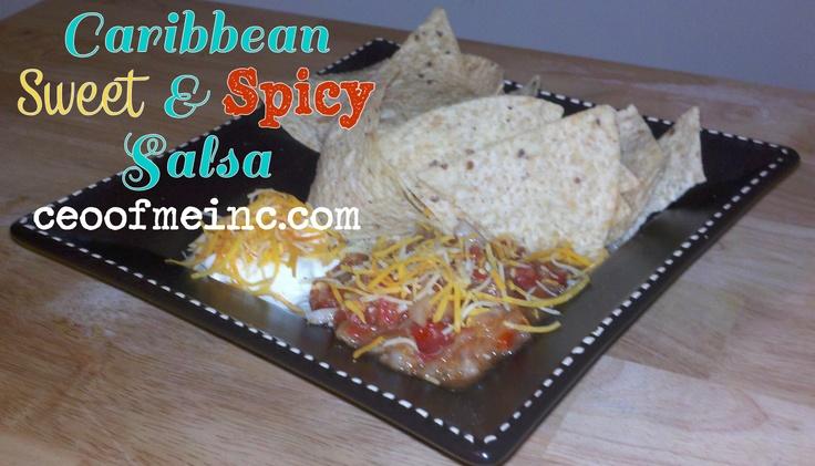 Caribbean Sweet & Spicy #Salsa #Recipe