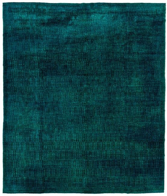 Fabulous, Deeply Intense Color. Overdyed Pure Wool Rug