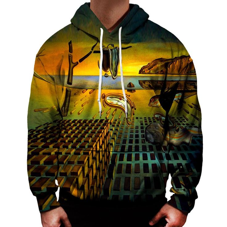 The Disintegration of the Persistence of Memory Hoodie
