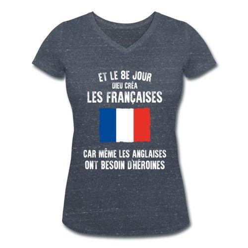 citation - football - france - sport - Tee shirt Femme