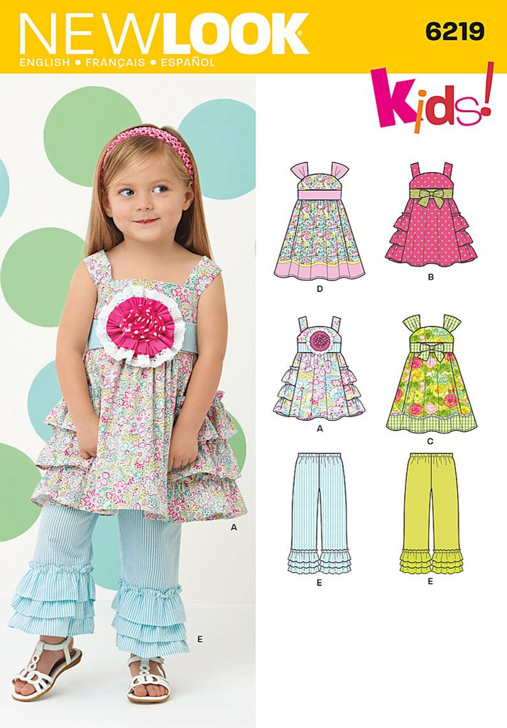 Simplicity Creative Group - Toddlers' Dress and Pants