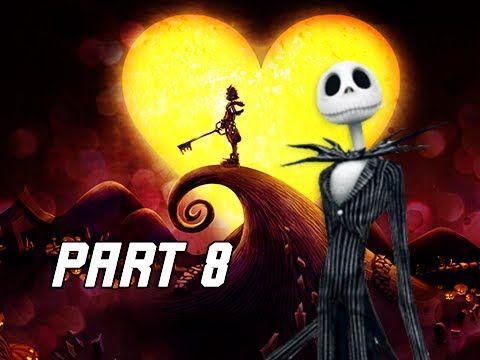 Kingdom Hearts 1.5 Walkthrough Part 8 - Jack Skellington & Halloween Town (PS4 Let's Play)
