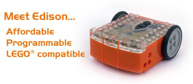 Meet Edison - Cheap Programmable Lego Robot Kits