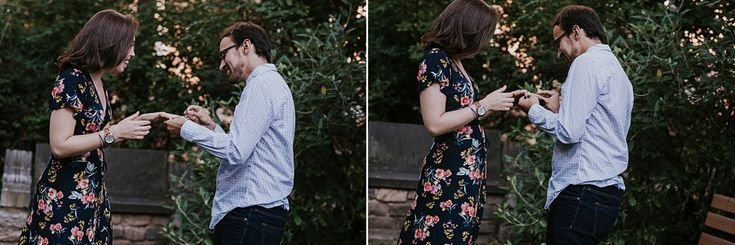 surprise engaged couple in philadelphia sgw photography